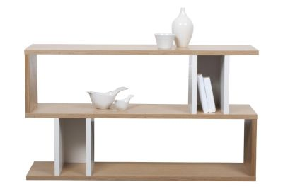 Counter Balance Low Shelving White