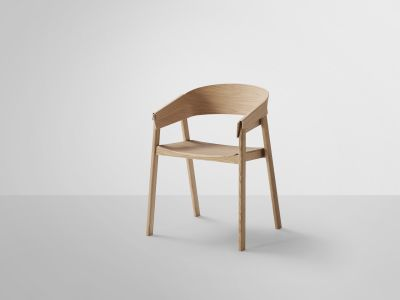Cover Chair Wood Seat Oak