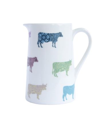 Cows Milk Jug Half Pint