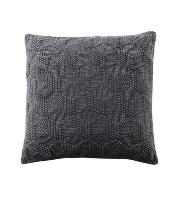 Cubes Cushion Dark Grey