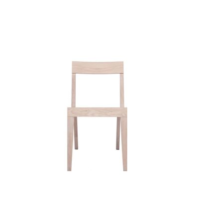 Cubo Chair With Wood Seat Oak, Oak