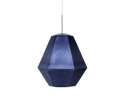 Cut Tall Pendant Lamp Smoke