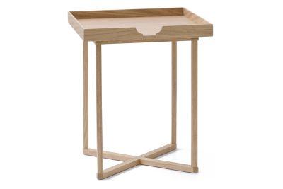 Damien Square Side Table Oak