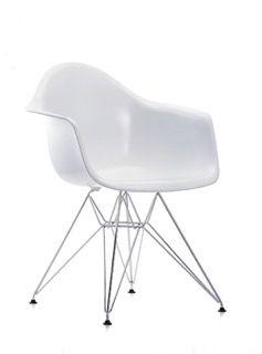 DAR Side Chair 30 Basic dark powder-coated, 94 Moss grey, 05 Felt glides basic dark for hard floor