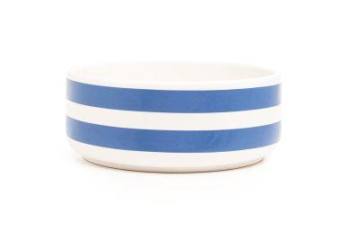 DIDO cereal bowl - stripes blue