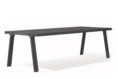 Doble Prolonged Dining Table Carbon Ash, Extra Long