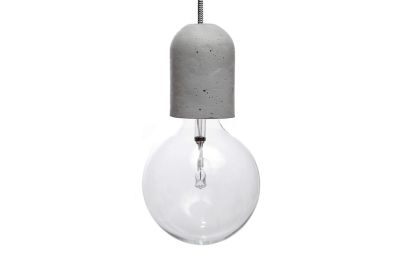 Dolio L Concrete Pendant Light 200 cm Cable Lenght