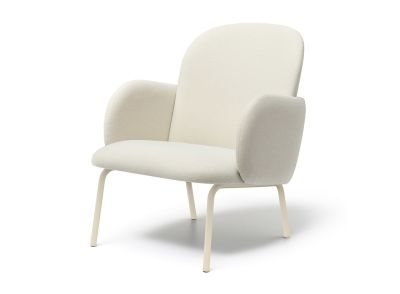 DOST LOUNGE CHAIR DOST LOUNGE CHAIR - IVORY