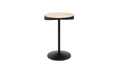 Drop Side Table Oak Natural