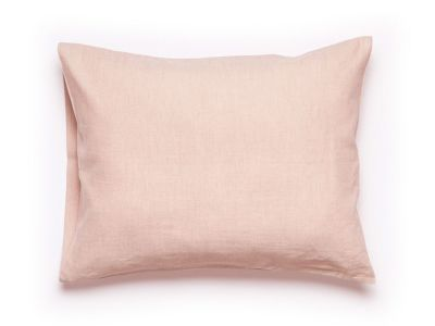 Dusty rose linen pillowcase 2 pillowcases 50x75cm