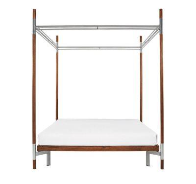 Edward IV – Double Canopy Bed White