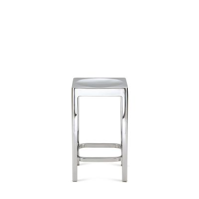 Emeco Counter Stool Hand Brushed