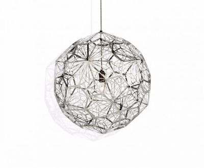 Etch Web Pendant Light Steel