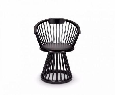 Fan Dining Chair Black