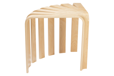 Fan Stool Lacquered Birch