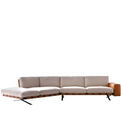 Fenix 2 - Composite Set Churchill - Antracite, Cairo - Bianco 01, Right Linear Set