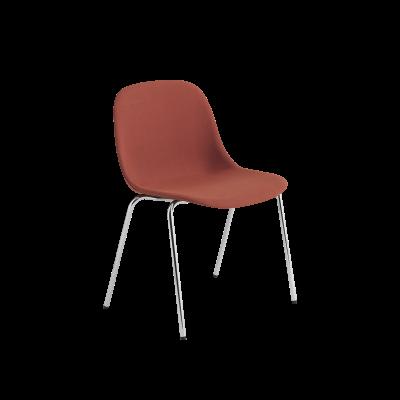 Fiber Side Chair / A-Base With Felt Glides Upholstered Divina Melange 2 120