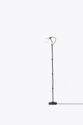 Five Floor Lamp Black