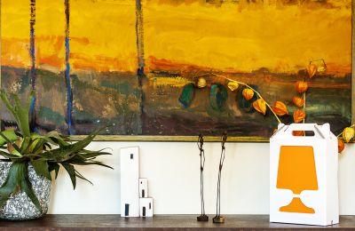 Flamp - Table Lamp Orange