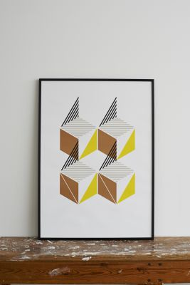 Flying Toy Box Screen Print Witout Frame