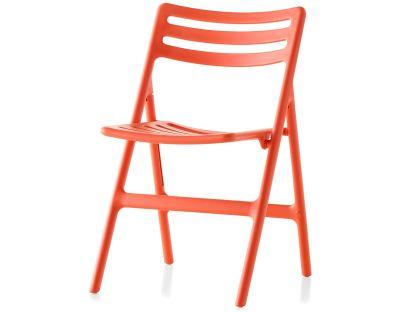 Folding Air-Chair - Set of 2 Matt Orange