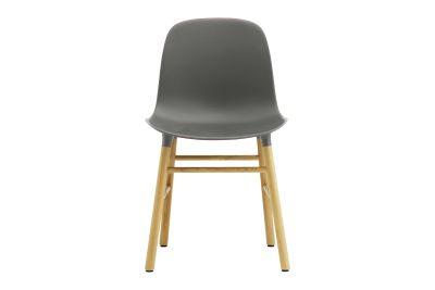 Form Dining Chair NC Oak, Grey