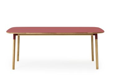 Form Table - Rectangle Red