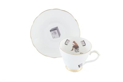Forty Degrees Teacup & Saucer