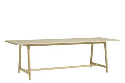 Frame Dining Table Matt Lacquered Oak, Large