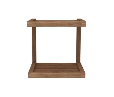 Frame Sofa Side Table Teak