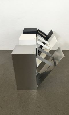 Franz Waste Bin Steel