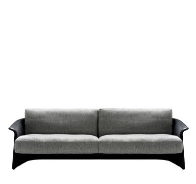 Garconne 2 - Three Seater Sofa Churchill - Antracite, Cairo - Bianco 01