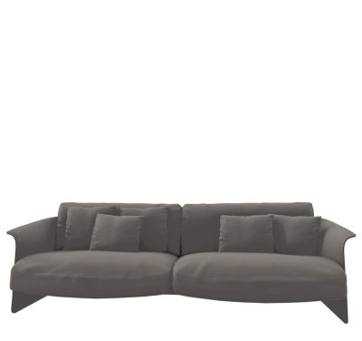 Garconne 1 Three-Seater Sofa Churchill - Polvere