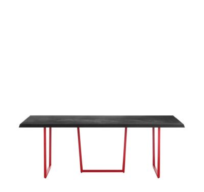 Gazelle Desk Black, Cement