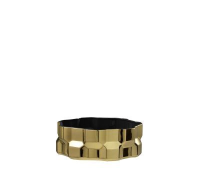 Gear Centerpiece Glossy Gold, Glossy Black