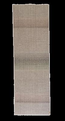 GERU - hand woven light grey runner 75 x 230cm