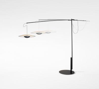 Ginger Floor lamp Marset - Wenge, 212cm
