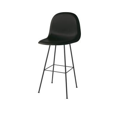 Gubi 3D Bar Chair Center Base - Unupholstered Gubi Wood American Walnut