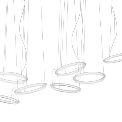 Halo Circular Pendant Light - 5 LEDs