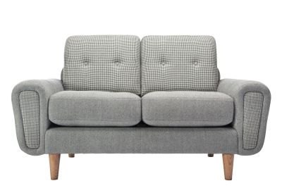 Harvey 2 Seater Sofa Black Classic