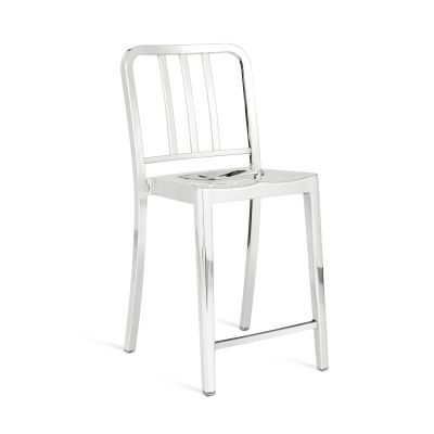 Heritage Stacking Counter Stool Hand Polished