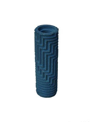 Herringbone Bud vase - Dark Blue Herringbone Bud vase - Dark Blue