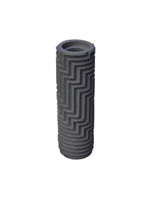 Herringbone Bud vase - Grey Marble Herringbone Bud vase - Grey Marble