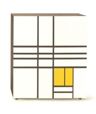 Homage to Mondrian White/Red/Blue/Yellow