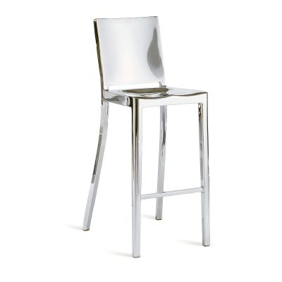Icon Barstool Hand Polished
