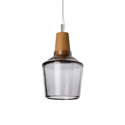 Industrial 15/16P Pendant Light Clear