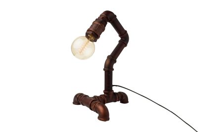 Industrial Desk Pipe Lamp Type C Plug
