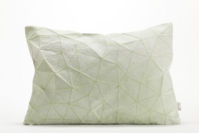 Irad Rectangular Cushion Cover   Irad Green