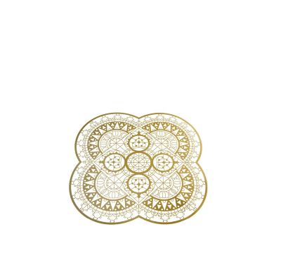 Italic Lace Petal Placemat Brass