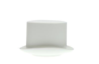Jack Top Hat Sugar Bowl White
